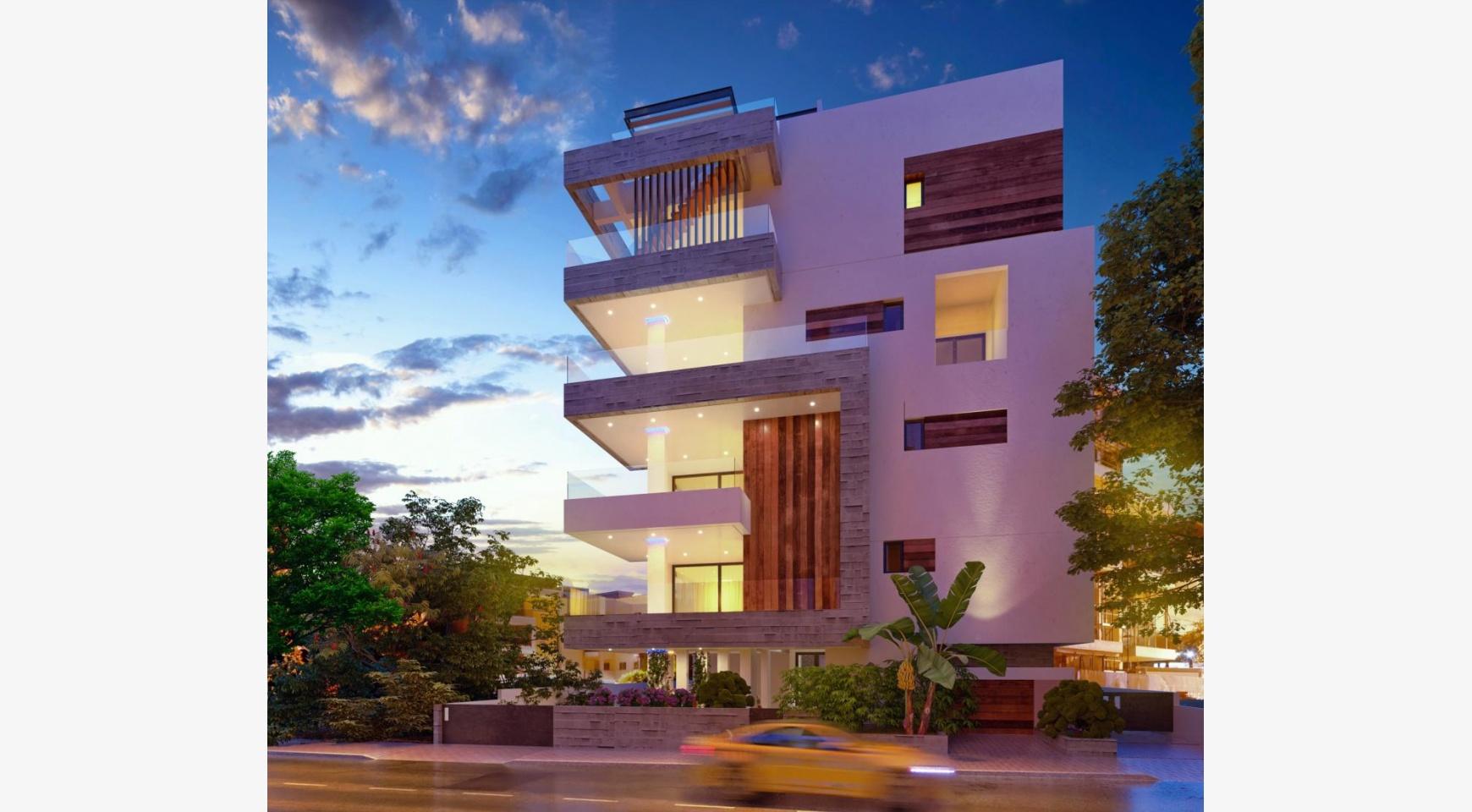 Новая 2-спальная Квартира в Современном Здании у Моря - 2