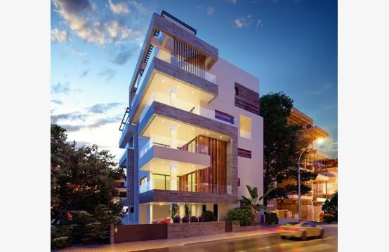 Новая 2-спальная Квартира в Современном Здании у Моря