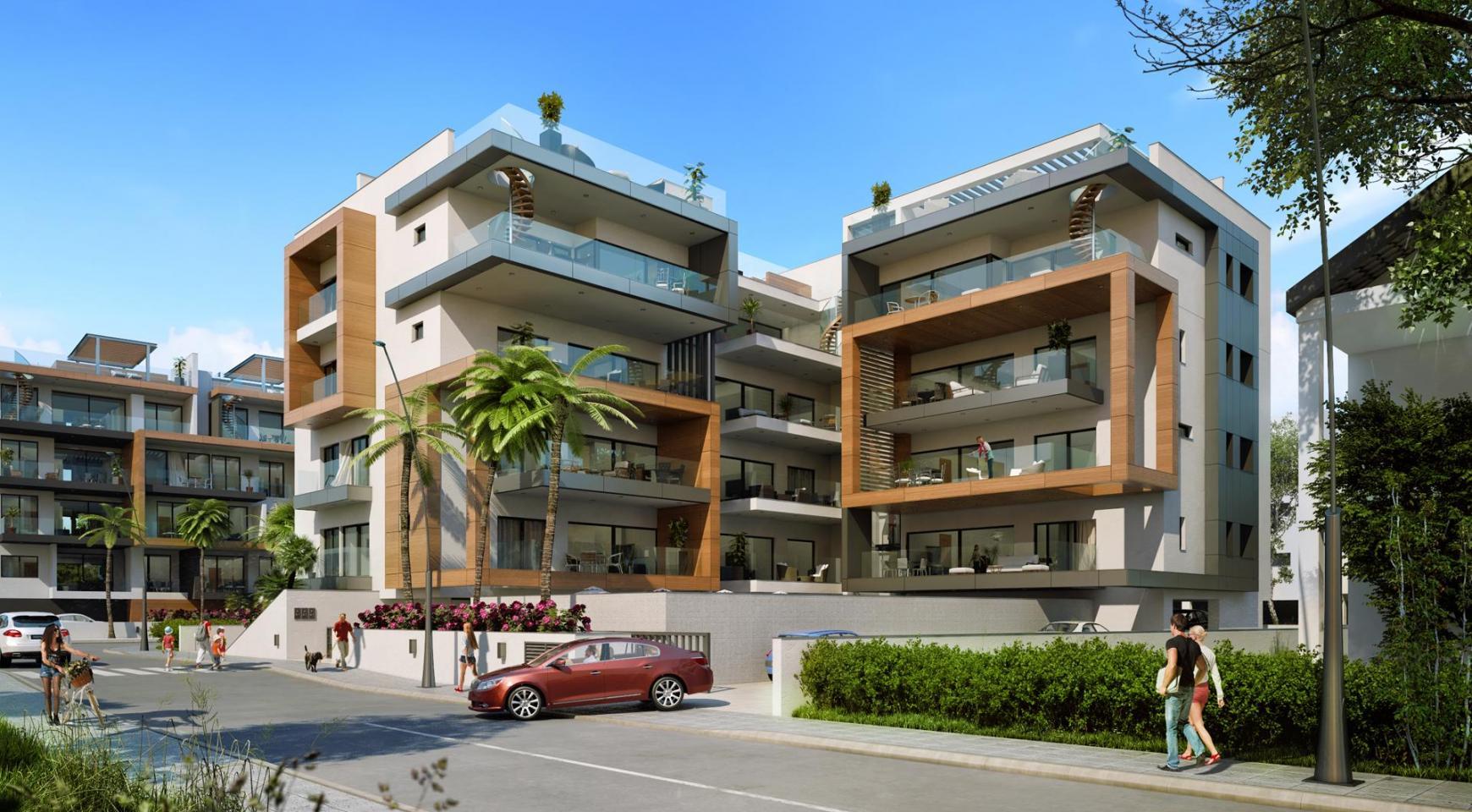 Новая Современная 3-Спальная Квартира  возле Моря - 1