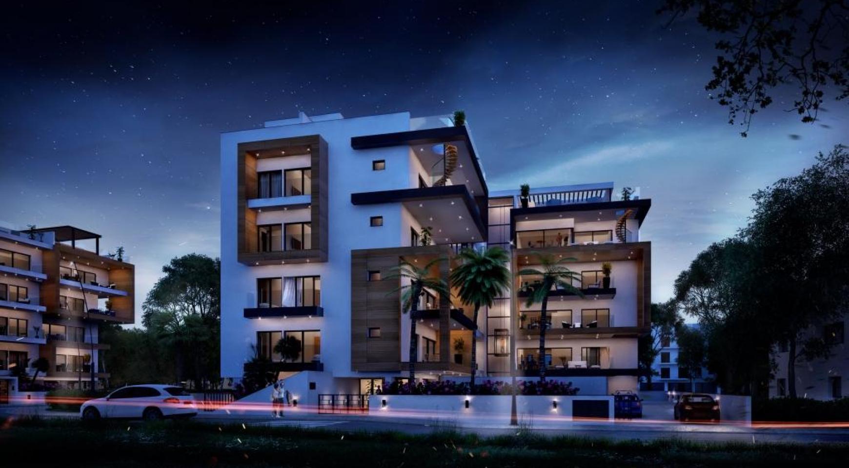 Новая Современная 3-Спальная Квартира  возле Моря - 9