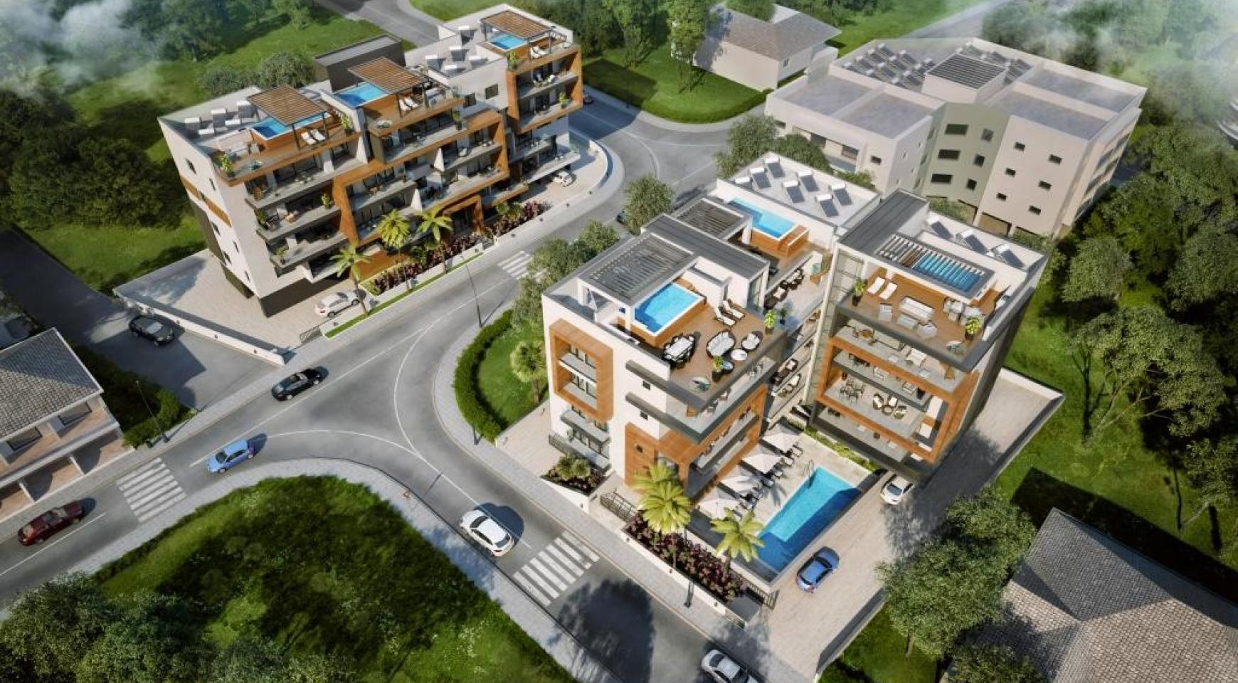 Новая Современная 3-Спальная Квартира  возле Моря - 10