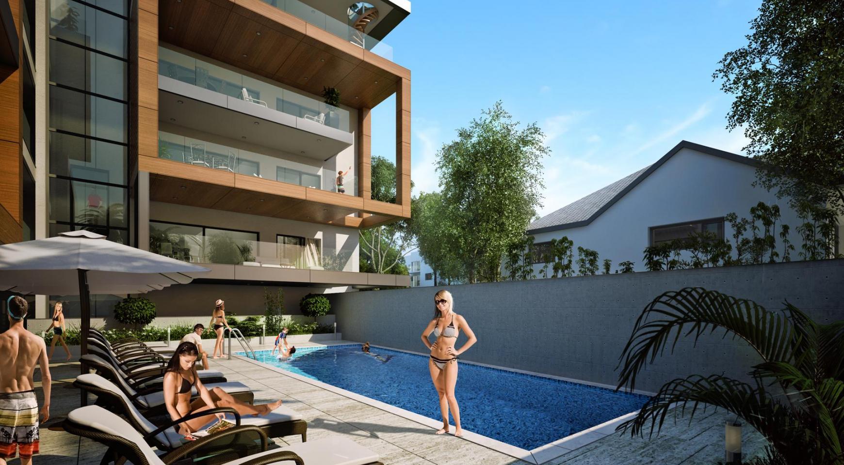 Новая Современная 3-Спальная Квартира  возле Моря - 7
