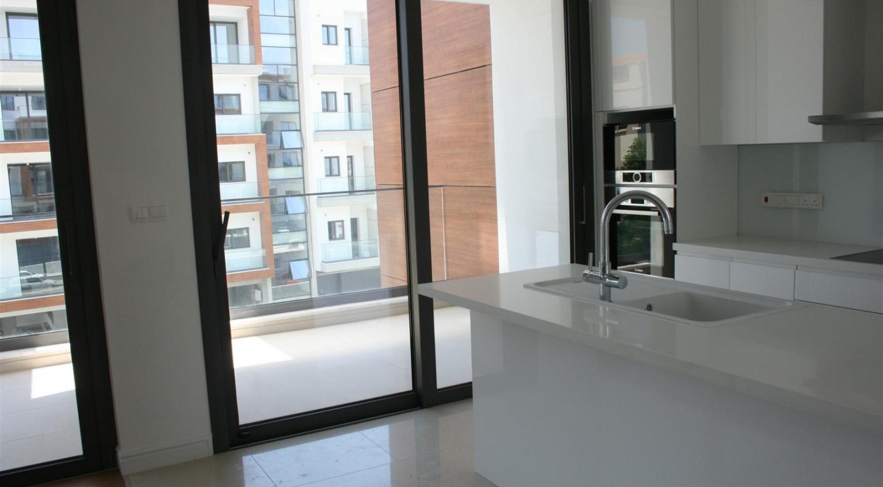 Новая Современная 3-Спальная Квартира  возле Моря - 16