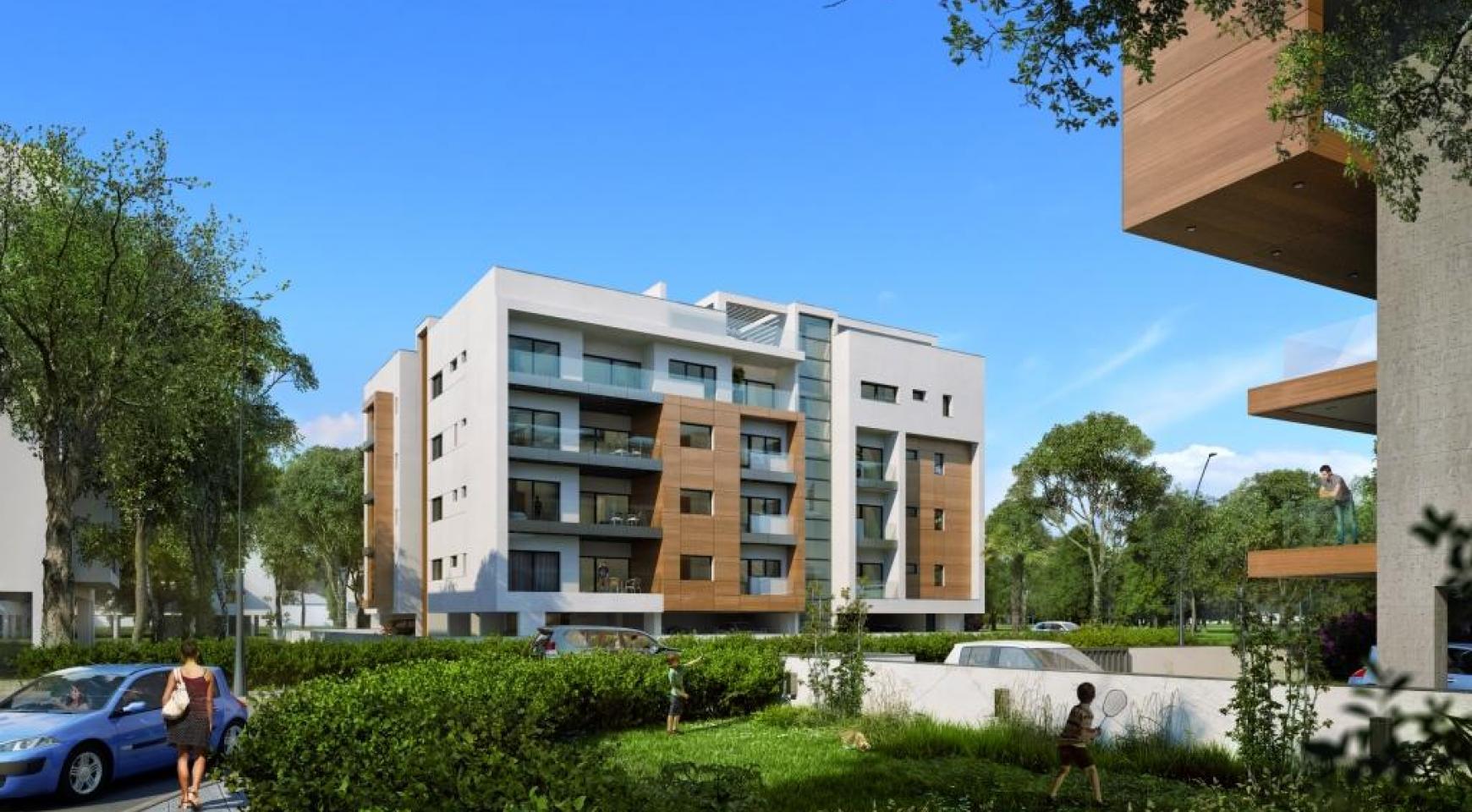 Новая Современная 3-Спальная Квартира  возле Моря - 4