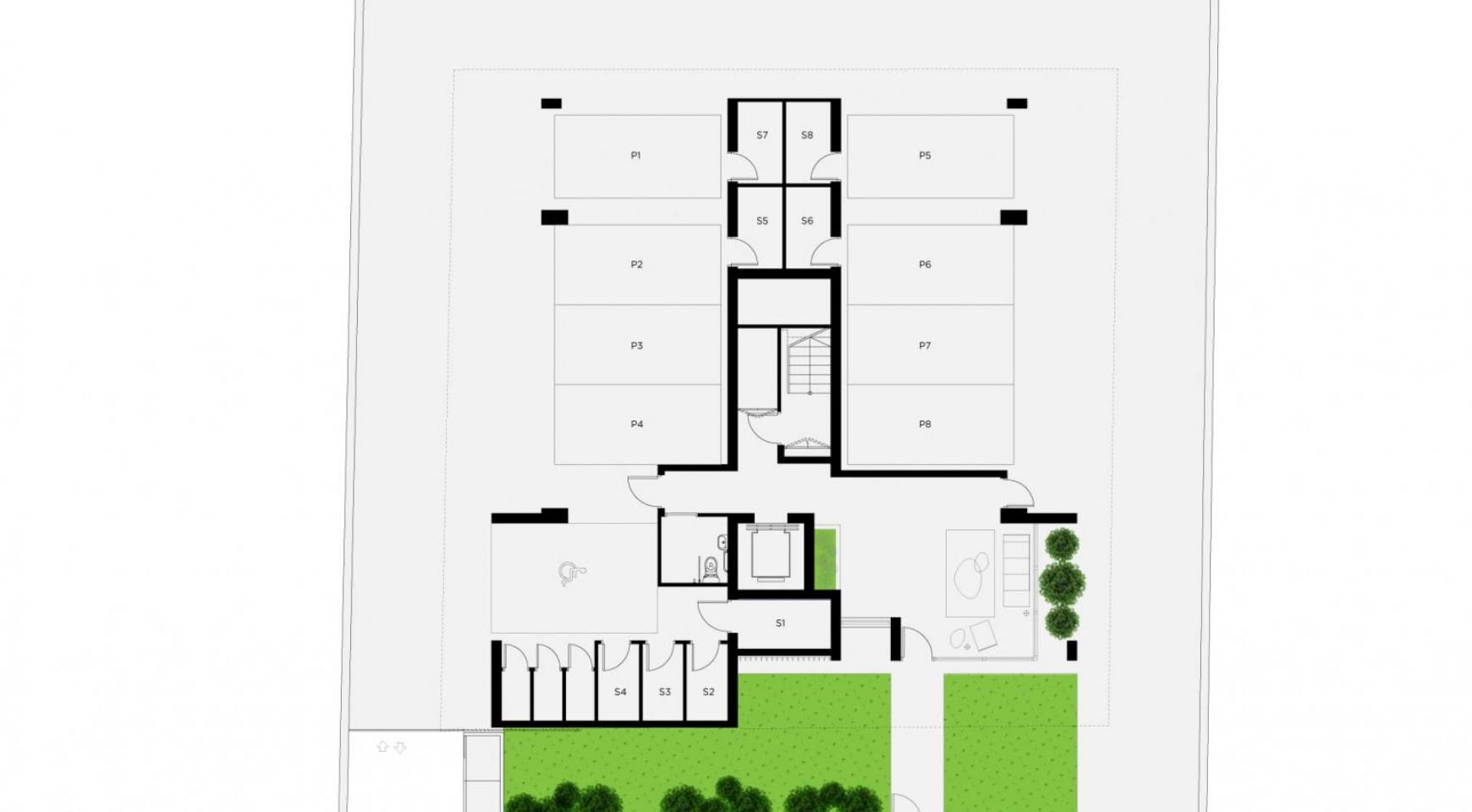 Новый 3-Спальный Пентхаус в Центре Города - 7