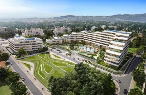 Новый 3-Спальный Таунхаус в Современном Комплексе в Районе Потамос Гермасойя