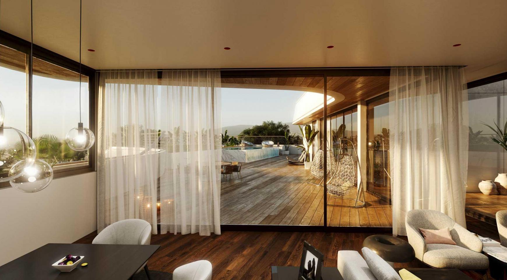Новая 3-Спальная Кварнтира в Современном Комплексе в Районе Потамос Гермасойя - 17