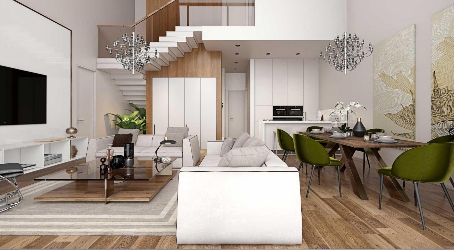 Новая 3-Спальная Кварнтира в Современном Комплексе в Районе Потамос Гермасойя - 15