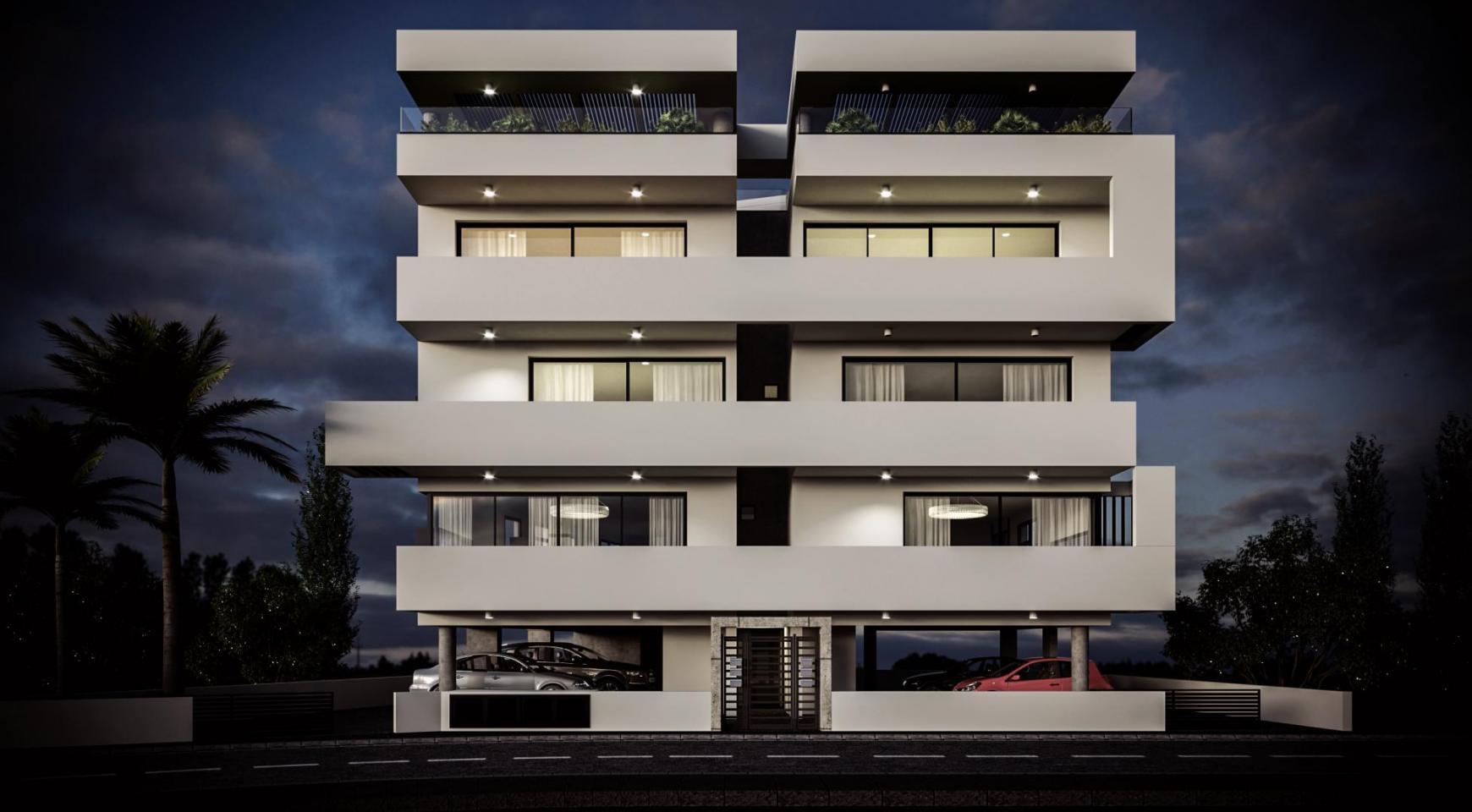 Жилое 6-Квартирное Здание в Районе Айя Фила - 5