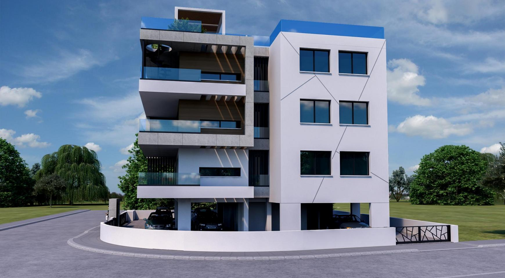 Современное 6-Квартирное Здание в Районе Zakaki - 5