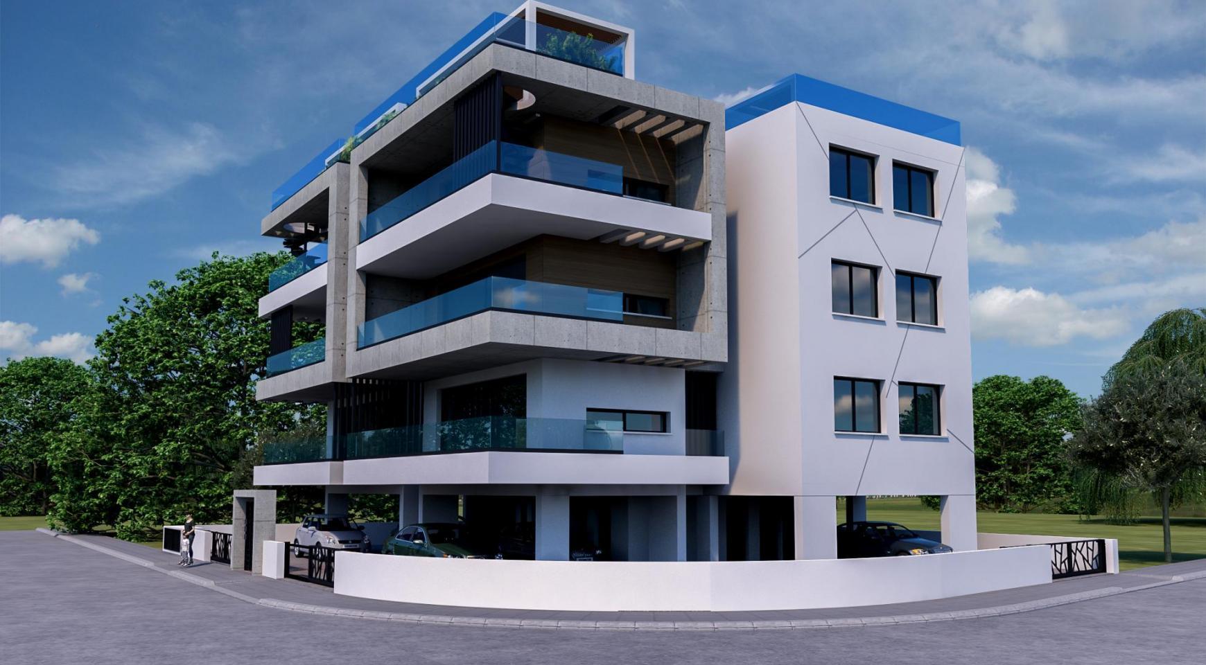 Современное 6-Квартирное Здание в Районе Zakaki - 2