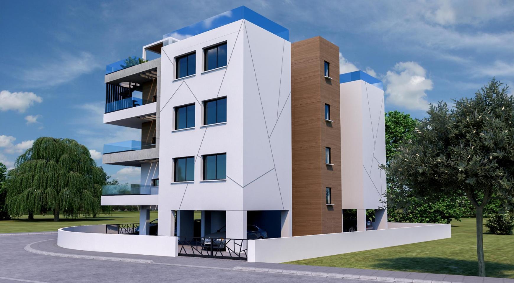 Современное 6-Квартирное Здание в Районе Zakaki - 8