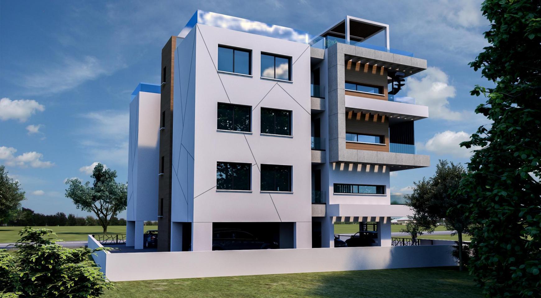 Современное 6-Квартирное Здание в Районе Zakaki - 6