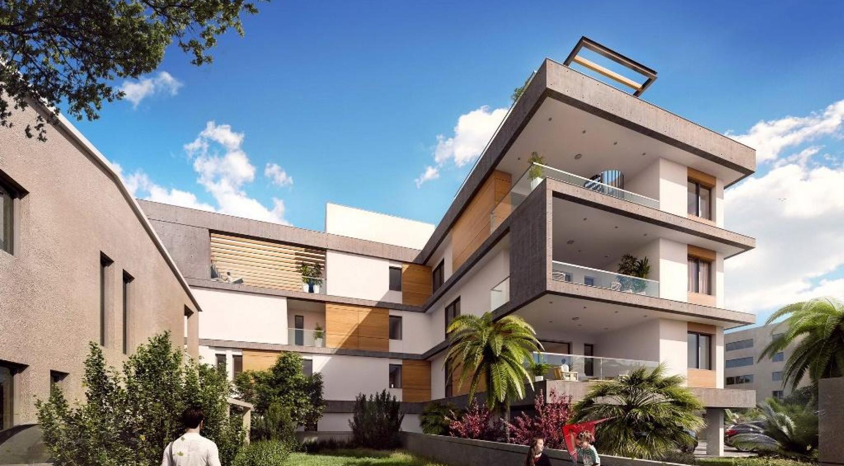 Новый 3-Спальный Пентхаус с Частным Бассейном в Районе Потамос Гермасойя - 5