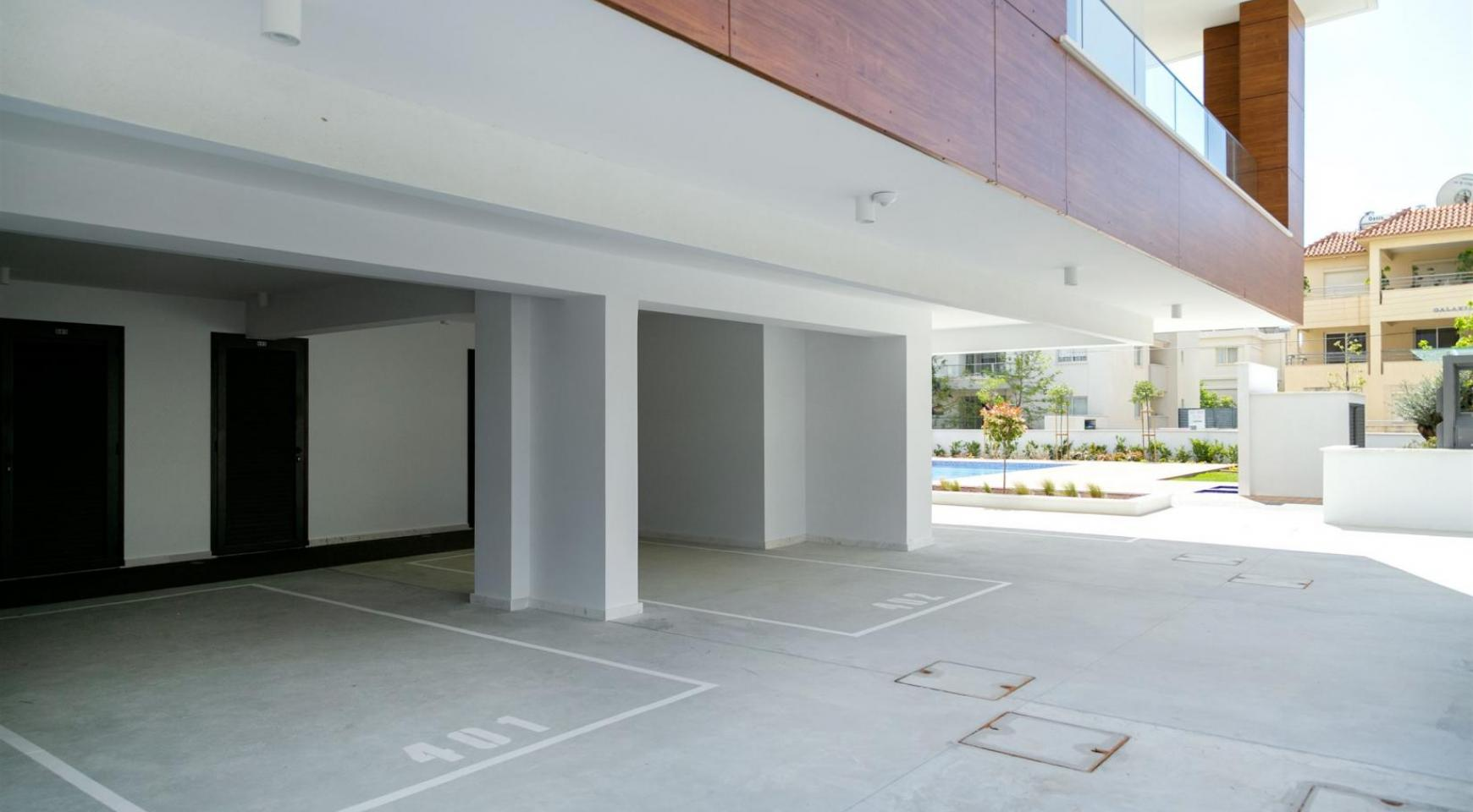 Malibu Residence. Современная  Односпальная Квартира 102 в Туристической Зоне - 12