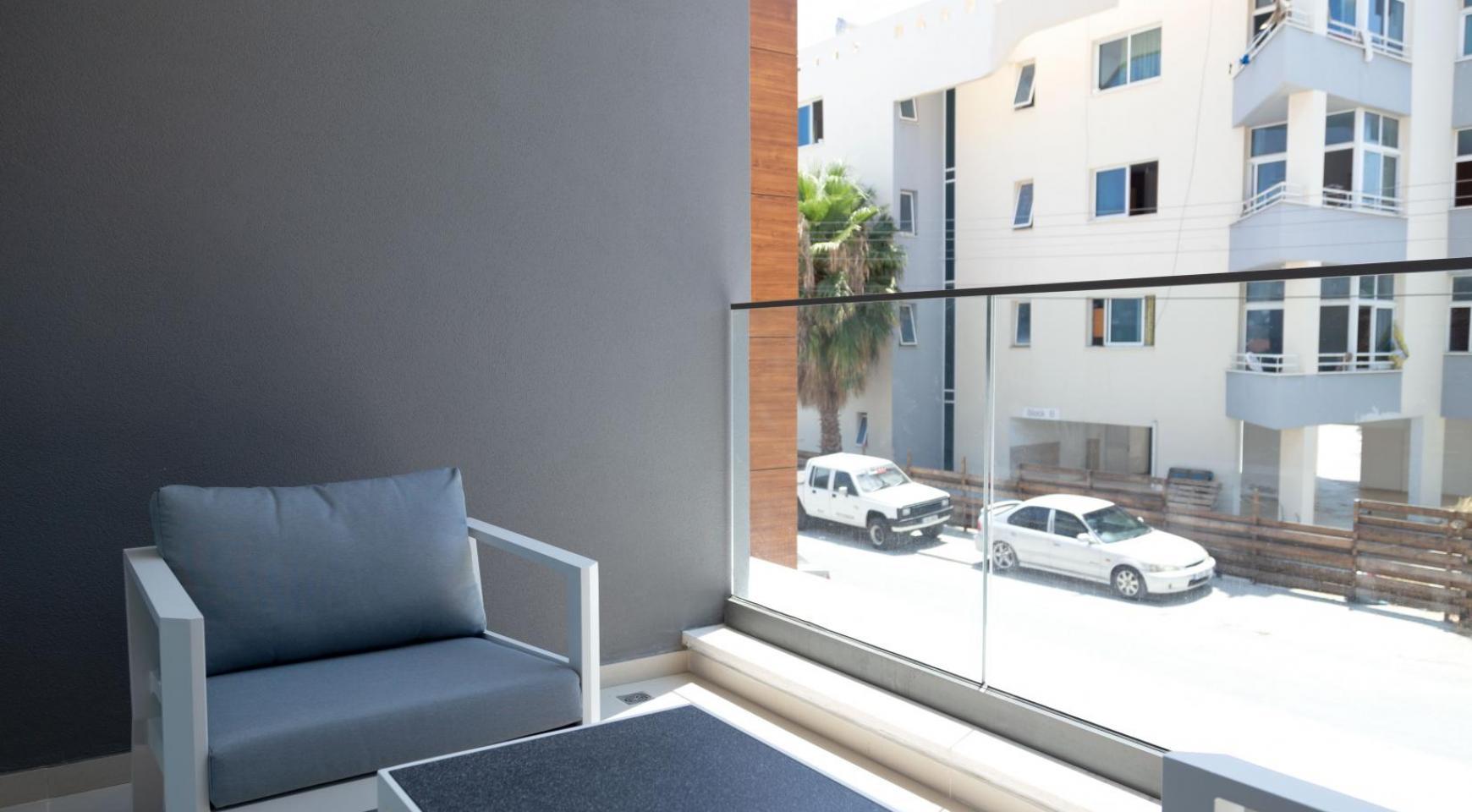 Malibu Residence. Современная  Односпальная Квартира 102 в Туристической Зоне - 32