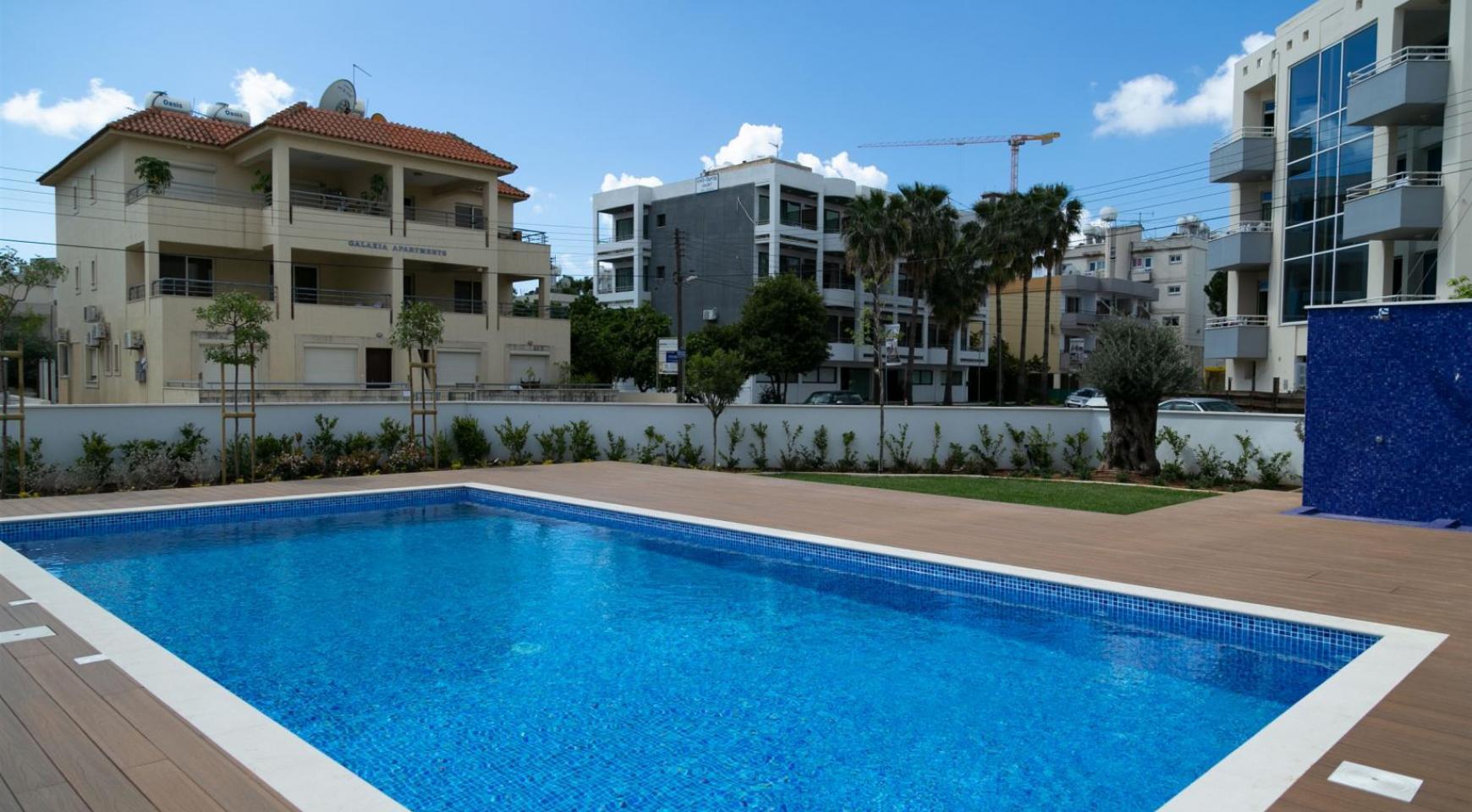 Malibu Residence. Современная  2-Спальная Квартира 201 в Районе Потамос Гермасойя - 10
