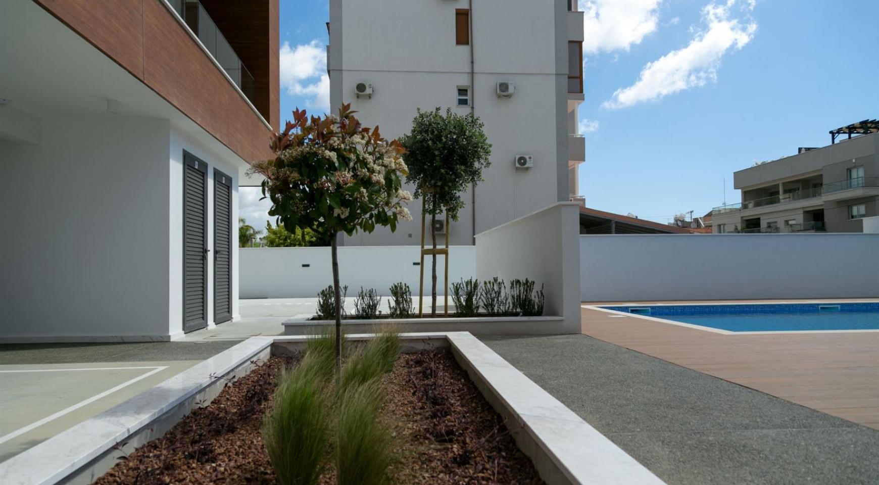 Malibu Residence. Современная  2-Спальная Квартира 201 в Районе Потамос Гермасойя - 11