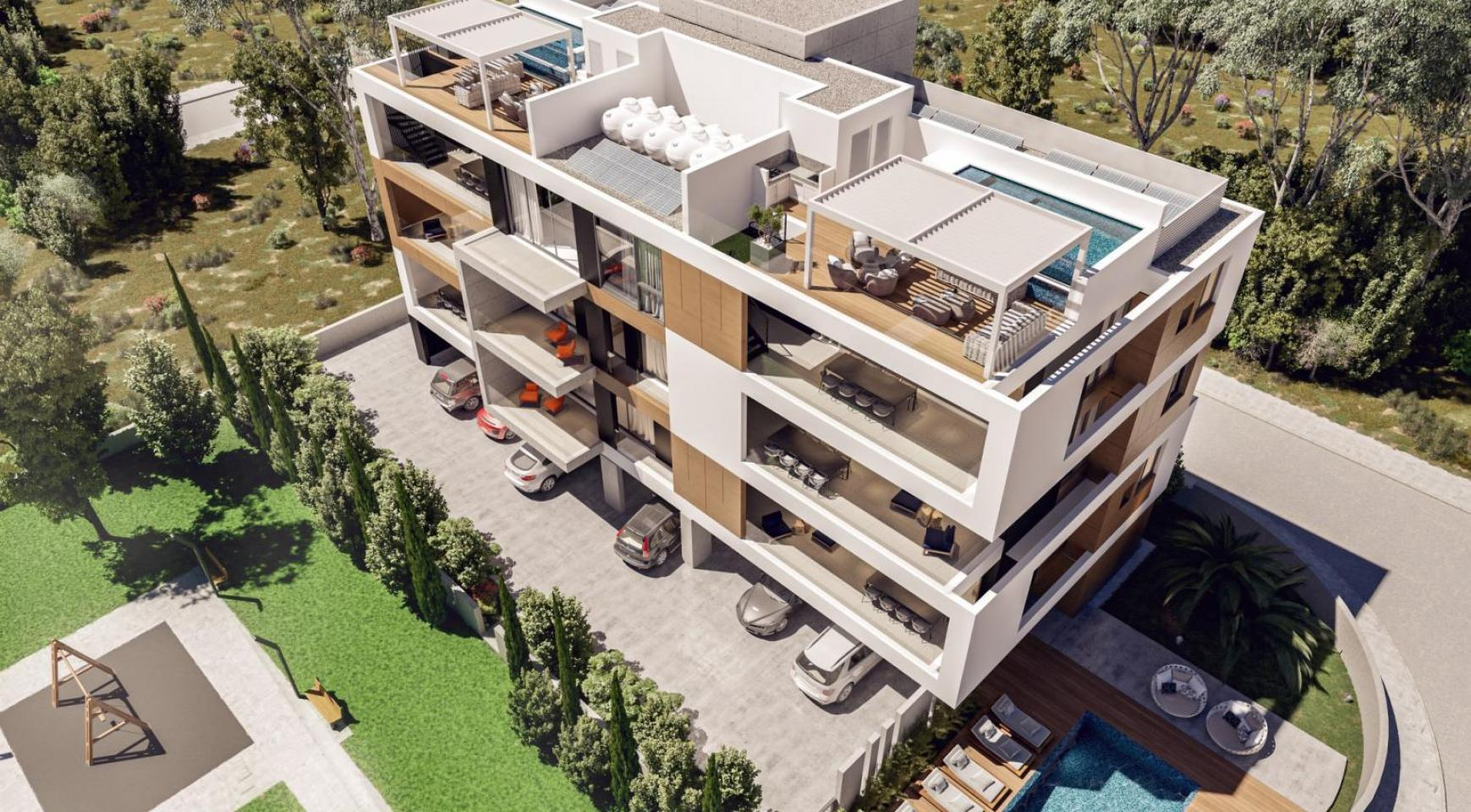 Parkside Residence, Кв. 101. 2-Спальная Квартира в Новом Комплексе в Туристическом Районе - 1