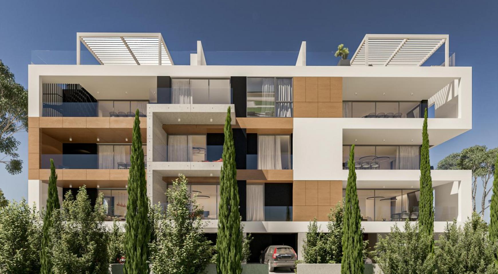 Parkside Residence, Кв. 101. 2-Спальная Квартира в Новом Комплексе в Туристическом Районе - 2