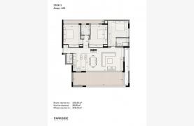 Parkside Residence, Кв. 103. 3-Спальная Квартира в Новом Комплексе в Туристическом Районе - 45