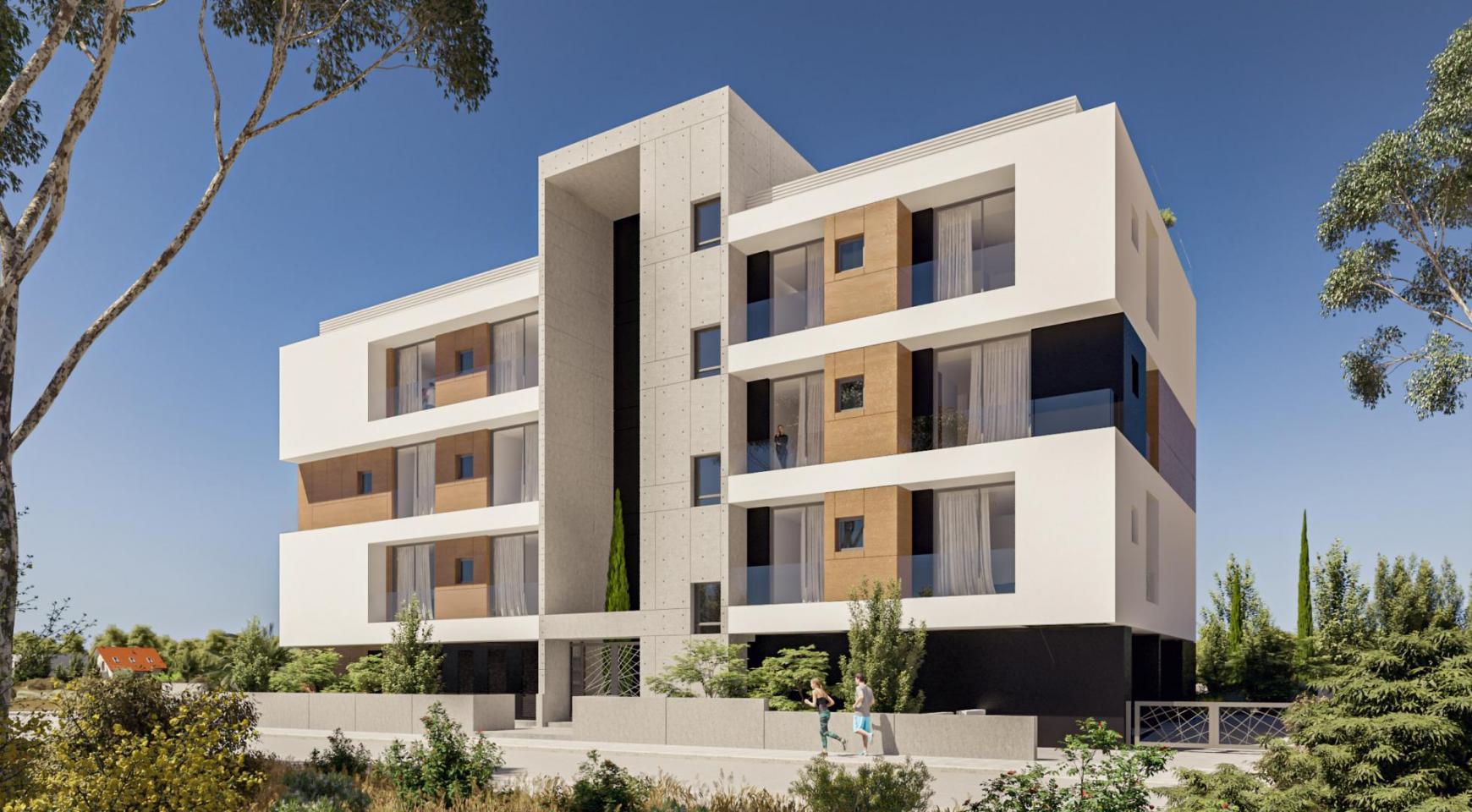Parkside Residence. Просторная 2-Спальная Квартира 201 в Туристическом Районе - 4