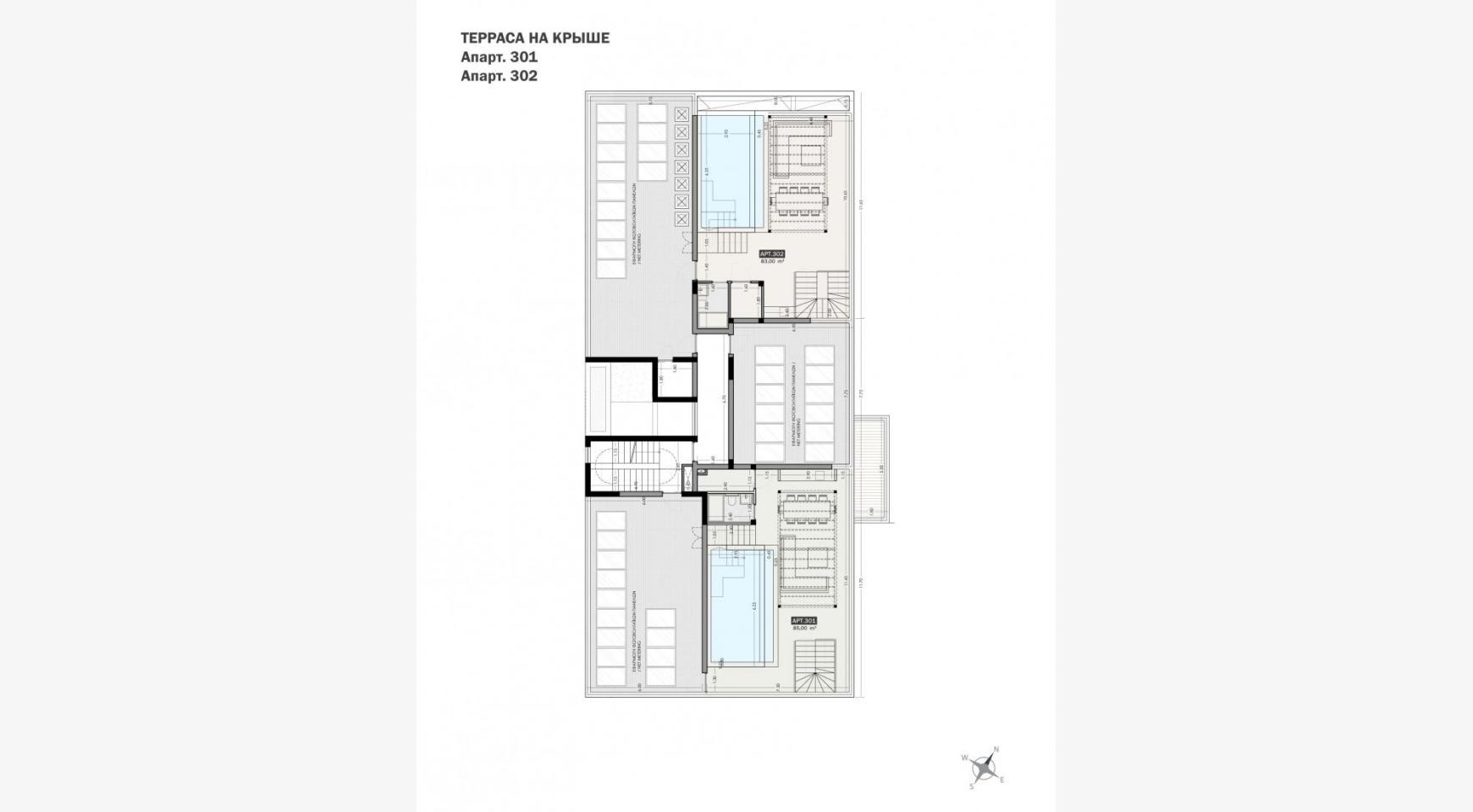 Parkside Residence, Кв. 301. 3-Спальный Пентхаус в Новом Комплексе в Туристическом Районе - 32