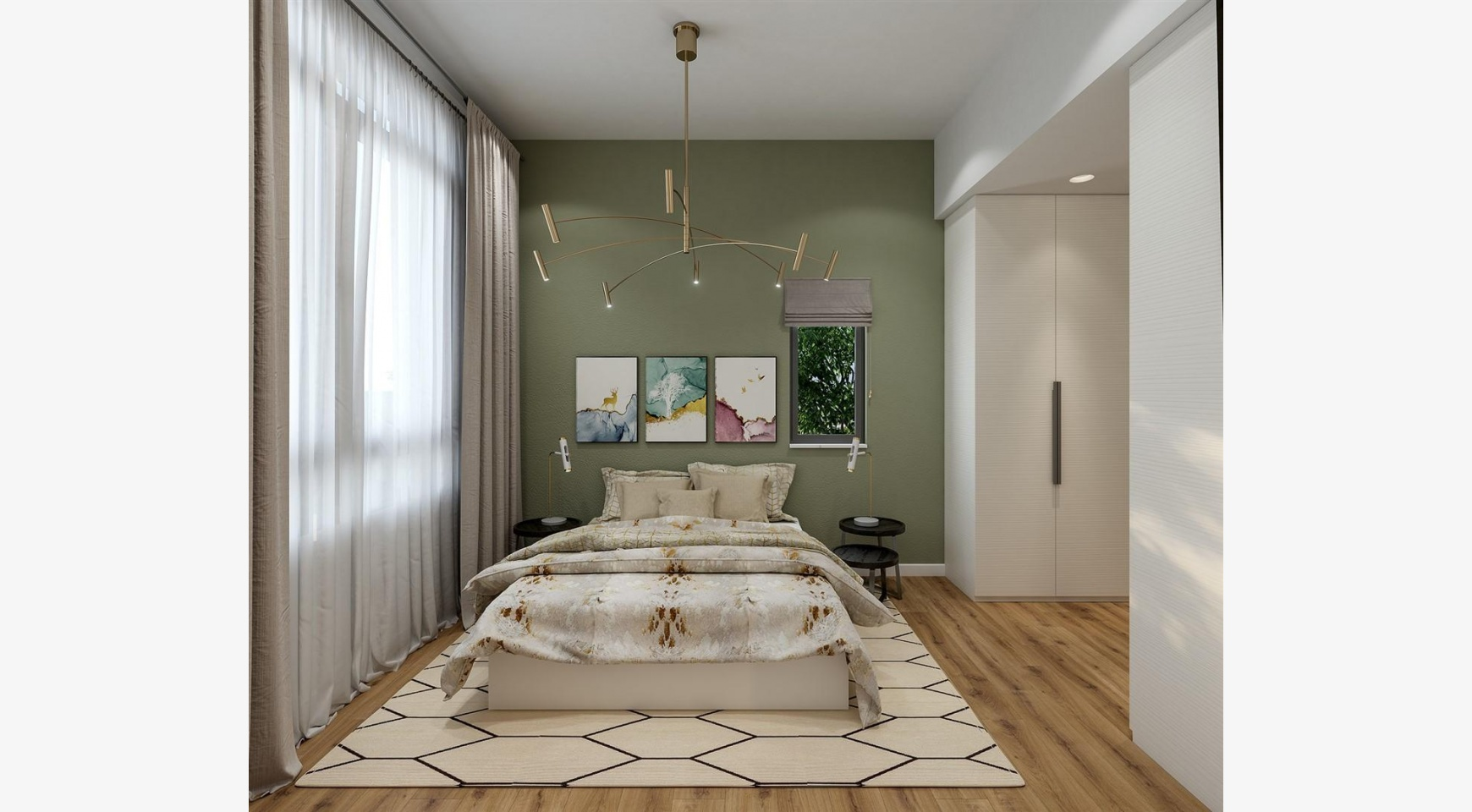 Urban City Residences, B 302. 2-Спальная Квартира в Новом Комплексе в Центре Города - 23